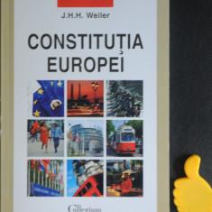 Constitutia Europei  J H H Weiler