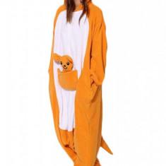 PJM26-1290 Pijama intreaga kigurumi, model cangur, M, M/L, S, S/M