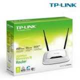 Router wireless N300 TP-LINK TL-WR841N (RO), 300Mbps, WAN, LAN, alb., 4, Tp-link