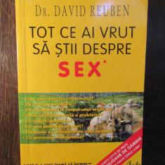 TOT CE AI VRUT SA STII DESPRE SEX -DR. DAVID REUBEN