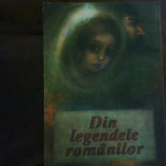 Din legendele romanilor, editie gigant, ilustratii Adriana Mihailescu, Alta editura