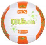 AVP Hawaii minge volei de plaja alb-portocaliu, Wilson