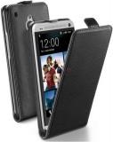 Husa Cellularline FLAPESSENONEMINIBK pentru HTC ONE Mini (Neagra)