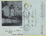 Salutari din Sulina  (Tulcea) -Farul CED- clasica 1899, Circulata, Printata
