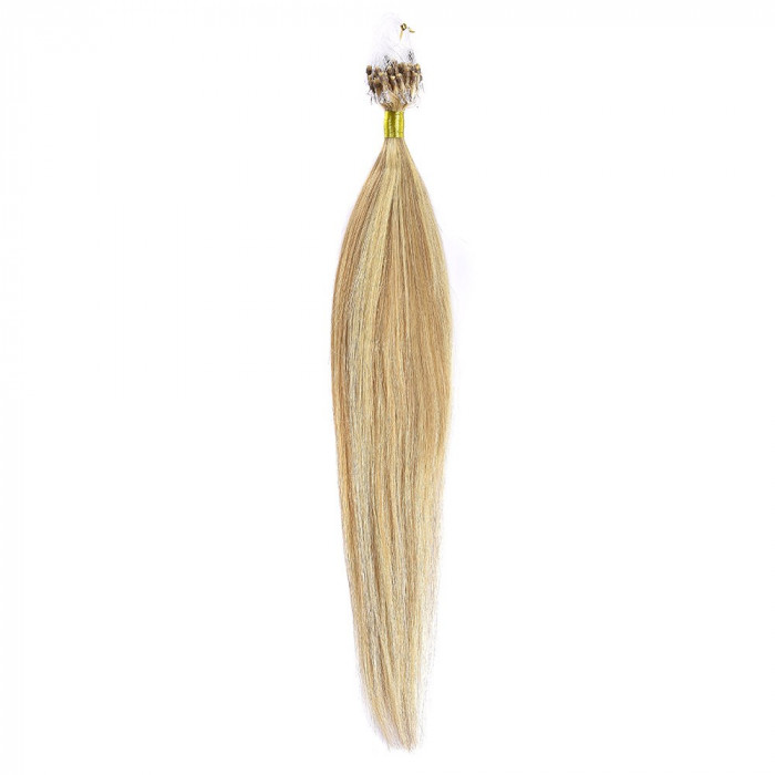 Microring Par Natural 50cm 50suv 1gr/suv Blond Miere Suvitat/Blond Deschis #27/60 foto mare