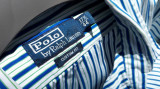 Camasa barbati RALPH LAUREN nr.XL originala, Maneca lunga, Albastru, Ralph Lauren
