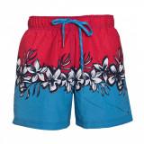 Pantaloni scurti Tommy Hilfiger Bay Floral-XL, Rosu, Tommy Hilfiger