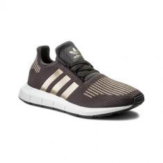 Pantofi Copii Adidas Originals Swift Run J CQ2598, 35.5, 36, 36 2/3, 37 1/3, 38, 38 2/3, 39 1/3, 40, Gri
