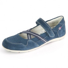 Mocasini Copii Lurchi Maike Jeans Suede 331493842, 25, 30, 31, Albastru
