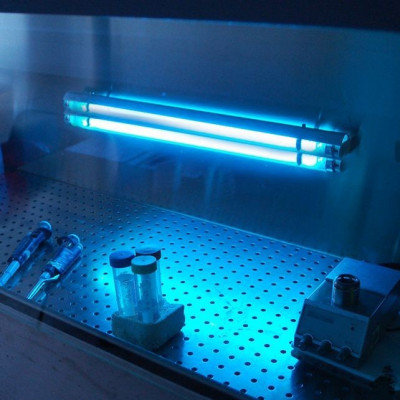 Lampa Bactericida Economica Cu Ultraviolete Uv C 2x55w Fixa