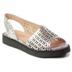 Sandale Femei Venezia 4136001 4136001SILVE, 39, Argintiu