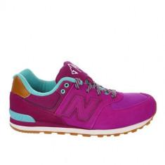 Pantofi Copii New Balance KL574NFG, 36, Turcoaz