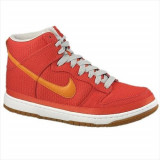 Pantofi Barbati Nike Dunk High Supreme 324759881, 41, Orange
