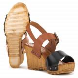 Sandale Femei Marco Tozzi 22874836098, 36, Maro