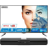 Televizor Horizon LED Smart TV 49 HL8530U 124cm Ultra HD 4K Black Bundle HAV-S2400W