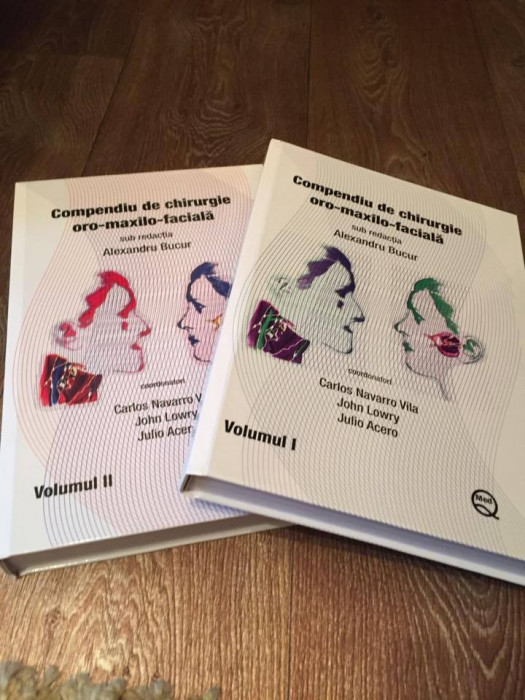 Compendiu de chirurgie oro-maxilo-faciala (vol1 si 2) de Alex. Bucur