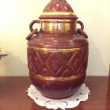 Vas din ceramica, vechi, inaltime 50 cm