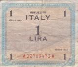 ITALIA 1 lira 1943 VF!!!