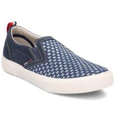 Pantofi Barbati Tommy Hilfiger Vibe 2C FM0FM00323006, 41, Albastru