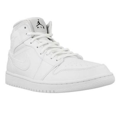 94b486f8e4c116 Ghete Barbati Nike Air Jordan 1 Mid 554724110, 45.5, 48.5, Alb ...