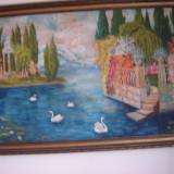 Tablou pictat, peisaj, Natura, Ulei, Altul