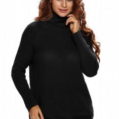 BL867-1 Pulover tricotat cu guler inalt, M, M/L, S/M