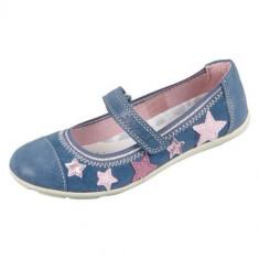 Mocasini Copii Lurchi Mila Jeans Suede 331496442, 33 - 35, 38, Albastru