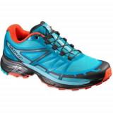 Pantofi Femei Salomon Wings Pro 2 W 390305, 37 1/3, 38 2/3, 39 1/3, Negru