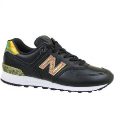 Pantofi Femei New Balance WL574NRH, 39, 40, 40.5, 41.5, Negru, New Balance