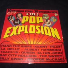 Various - Pop Explosion _ K-tel (Germania , 1975) _ europ pop ,pop rock, VINIL