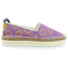Pantofi Femei Love Moschino Slip ON JA10133G01JB165A, 38, Violet