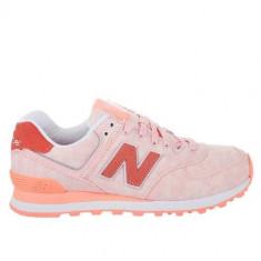Pantofi Femei New Balance WL574SWA, 37.5, Alb