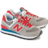 Pantofi Femei New Balance WL574MON, 36.5, 37.5, Rosu