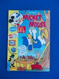 MICKEY MOUSE * REVISTA BENZI DESENATE , EGMONT ROMANIA , NR. 11 / 1996
