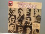 FAMOUS TENORS (1978/EMI/RFG) : CARUSO/B.GIGLI/T.SCHIPA/G.ZENATELLO- VINIL/Ca NOU, emi records