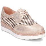 Pantofi Femei Hispanitas Lucca HV62695C002, 36, Auriu