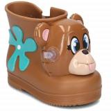 Cizme Copii Melissa Monkey Boot Jeremy Scott 3182501656, 19, 21, 23, 25, Maro