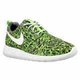 Pantofi Copii Nike Roshe One Print GS 677782009, 36, 36.5, 37.5, 38, 38.5, 39, 40, Negru