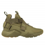 Ghete Femei Nike W Air Huarache City AH6787200, 37.5, 38, 38.5, Olive