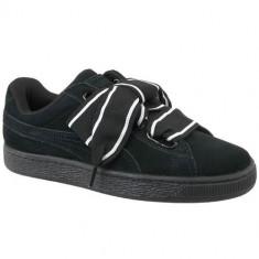 Pantofi Femei Puma Suede Heart Satin II 36408401