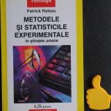 Metodele si statisticile experimentale Patrick Rateau