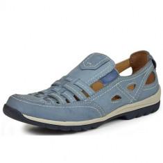 Pantofi Femei Jana 24621 82462126, 38, Albastru