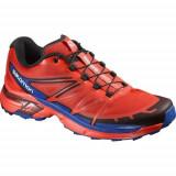 Pantofi Barbati Salomon Wings Pro 2 390617, 46 2/3, Orange