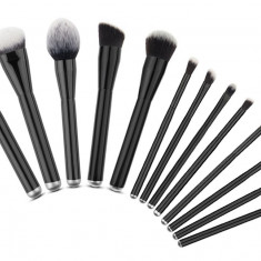 AC1348-1 Kit de make-up profesional, ce include 13 pensule de blending