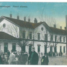 1706 - SIGHET, Maramures, Romania, Market, Ethnics - old postcard - used - 1916, Circulata, Printata