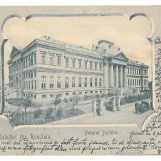 1772 - CRAIOVA, Romania, Justice Palace - old postcard - used - 1904, Circulata, Printata