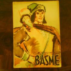 M. Lungianu Basme, ilustratii Gh. Adoc