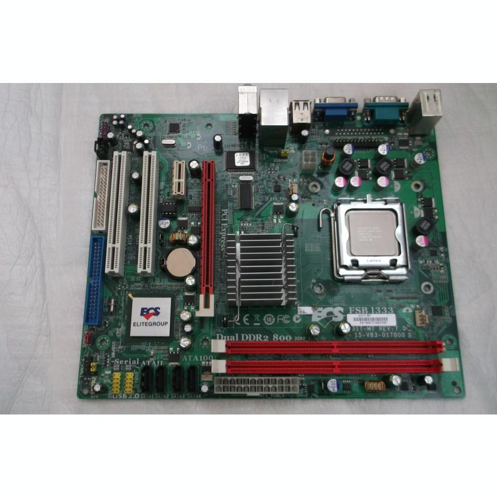 ECS G31T M7 PCI DEVICE DESCARGAR DRIVER