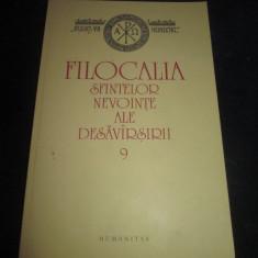 Filocalia sfintelor nevointe al desavarsirii, vol 9 _Ed.Humanitas,2011