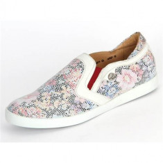 Pantofi Femei Think! Think Bianco Kombi Effekt Vitello 8403197
